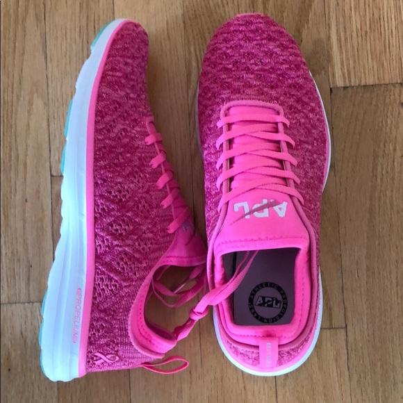 Apl Pink Sneakers | Poshmark